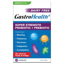 Gastrohealth 4 is scientifically studied strains of probiotics get into action upon entering the intestine and colon.