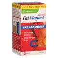 The positively charged Chitosan binds with the negatively charged fat and bile acids before they have a chance to be metabolised, thus preventing them from being absorbed into the bloodstream. This fat is then passed out of the body, without contributing to your daily calorie intake. FatBlaster FatMagnet also contains Vitamin C which has been shown to increase the effectiveness of Chitosan, and Psyllium Husk fibre for added health and digestive benefits